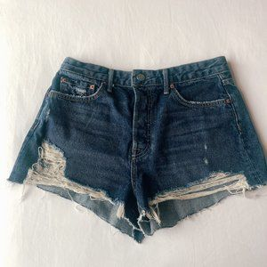 GRLFRND Denim Shorts